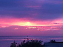Sunset Gazing Towards Cancu- Casa Música del Caribe