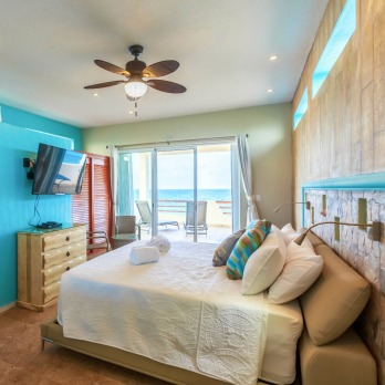 Sunrise Master Bedroom With Private Balcony